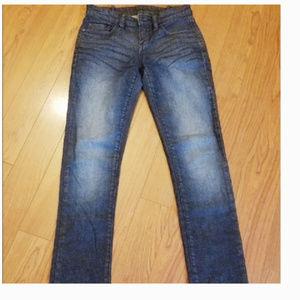 BCBGMaxAzria Jagger Blue Jean Denim Pants 26